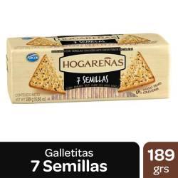 Galletitas 7 Semillas Hogareñas x 189 g.