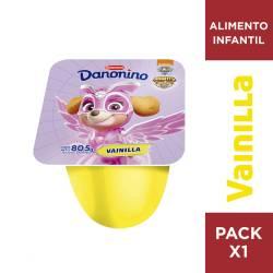 Alimento Lácteo Conc. Vainilla Danonino x 80 g.
