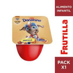 Alimento Lácteo Conc. Frutilla Danonino x 80 g.