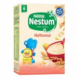 Alimento en Polvo Nestum Multicereal sin azúcar agregada x 200 g.