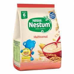 Alimento en Polvo Nestum Multicereal sin azúcar agregada x 125 g.