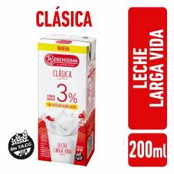 Leche L.V. Entera 3% La Serenisima x 200 cc.