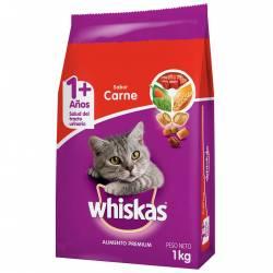 Alimento para Gato Carne Whiskas x 1 kg.