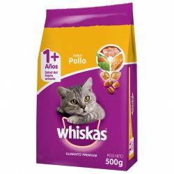 Alimento para Gato Pollo Whiskas x 500 g.