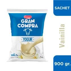 Yogur Bebible Vainilla en Sachet Gran Compra x 900 g.