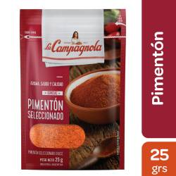 Pimentón Dulce Seleccionado La Campagnola x 25 g.