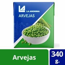 Arvejas Secas Remojadas La Anónima x 340 g.
