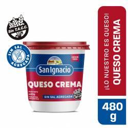 Queso Crema Entero Sin Sal San Ignacio x 480 g,