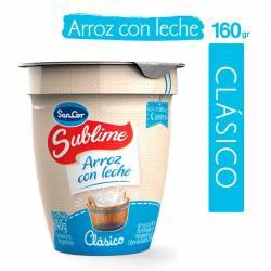 Arroz con Leche Clásico Sublime x 160 g.