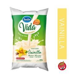 Yogur Descremado Bebible Vainilla en Sachet Sancor Vida x 900 g.