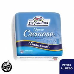 Queso Cremoso Fraccionado La Paulina x 1 kg.