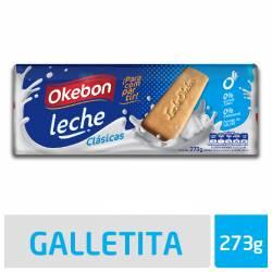 Galletitas Leche Okebon x 273 g.