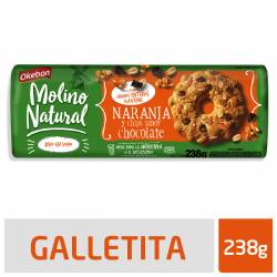 Galletitas Naranja y Chips Okebon x 238 g.