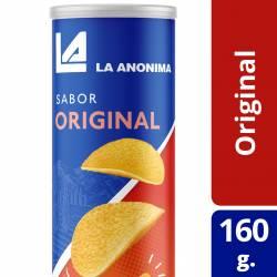 Papas Fritas en Tubo La Anónima sabor Original x 160 g.