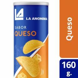 Papas Fritas en Tubo La Anónima sabor Queso x 160 g.
