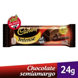 Chocolate Semi Amargo Intense Cadbury x 24 g.