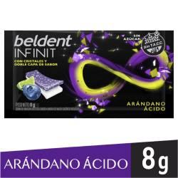 Chicles Beldent Dúo Arándanos Cítricos x 8 g.