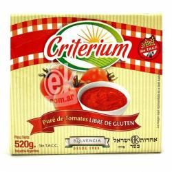 Puré de Tomates Criterium Brick x 520 g.