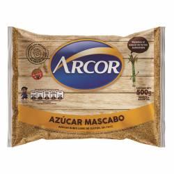 Azúcar Rubio Mascabo Arcor x 500 g.