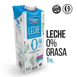 Leche L.V. Descremada 0% Grasa Tregar x 1 lt.