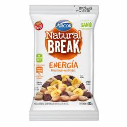 Mix de Frutas Seca-Semillas Energía Natural Break x 28 g.