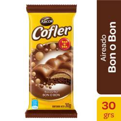 Chocolate Aireado Relleno Cofler x 30 g.