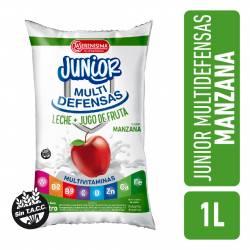 Leche + Jugos de Frutas Seremix Manzana La Serenísima x 1 lt.