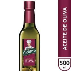 Aceite de Oliva Pet Cocinero x 500 cc.
