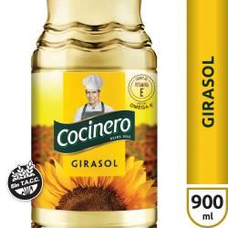 Aceite de Girasol Cocinero x 900 cc.