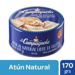 Atún al Natural La Campagnola x 170 g.