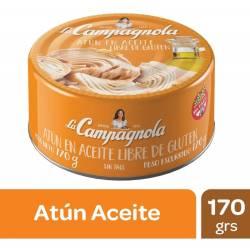 Atún en Aceite La Campagnola x 170 g.