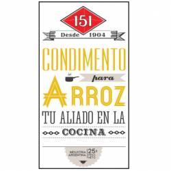 Condimento para Arroz 51 x 25 g.