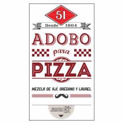 Condimento para Pizza 51 x 25 g.