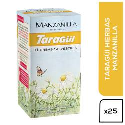 Té en Saquitos Taragüí Manzanilla x 25 un.