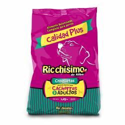 Alimento para Perros Carne Ricchisimo x 1,25 kg.