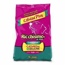 Alimento para Perros Carne Ricchisimo x 2,5 kg.