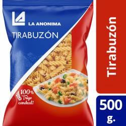 Fideos Tirabuzón La Anónima x 500 g.