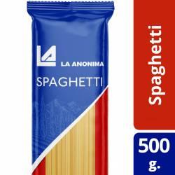 Fideos Spaghetti La Anónima x 500 g.