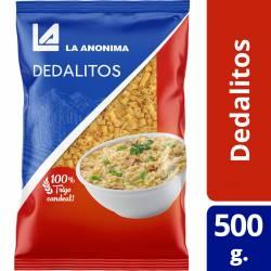 Fideos Dedalitos La Anónima x 500 g.