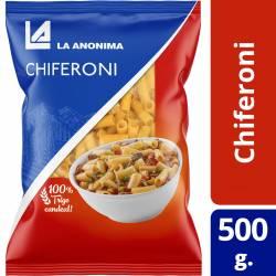 Fideos Chiferoni La Anónima x 500 g.
