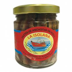Filet de Anchoas en Aceite La Isolana x 90 g.