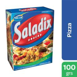 Galletitas Sabor Pizza Saladix x 100 g.