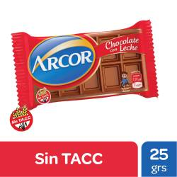 Chocolate con Leche Arcor x 25 g.