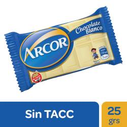 Chocolate Blanco Arcor x 25 g.