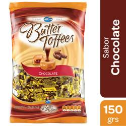 Caramelos Leche Butter Toffees Rellenos con Chocolate x 150 g.
