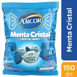Caramelos Arcor Menta Cristal x 150 g.