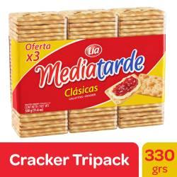 Galletitas Crackers Media Tarde x 330 g.