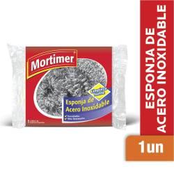 Esponja de Acero Mortimer x 1 un.