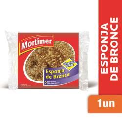 Esponja de Bronce Mortimer x 1 un.