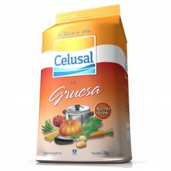 Sal Gruesa Celusal Paquete x 1 Kg.